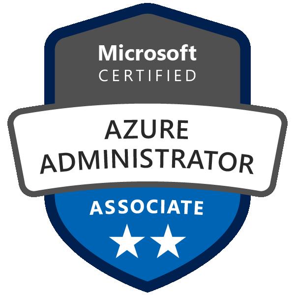 Certification Microsoft AZ-104 : Azure Administrator Associate