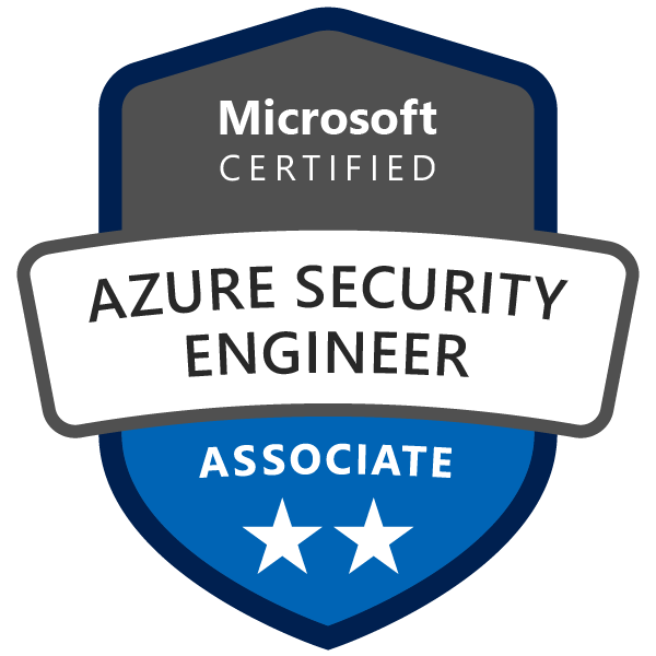 Badge Microsoft : Azure Security Engineer