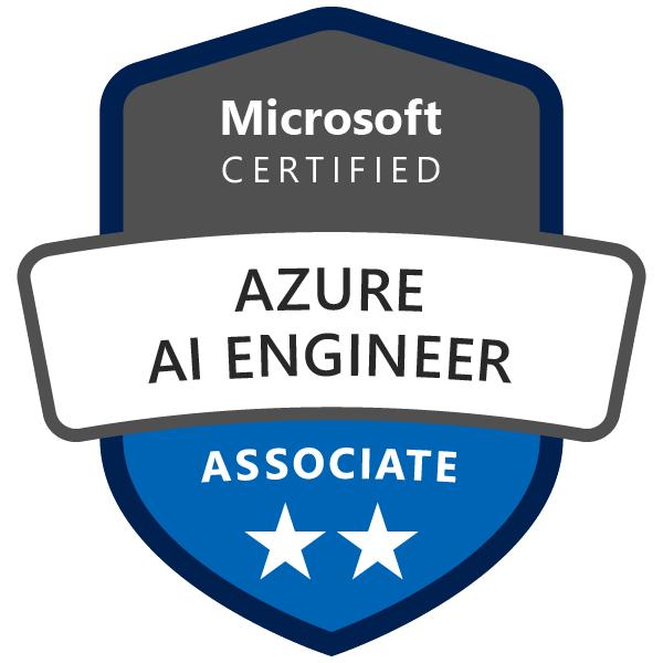 Badge : Azure AI Engineer